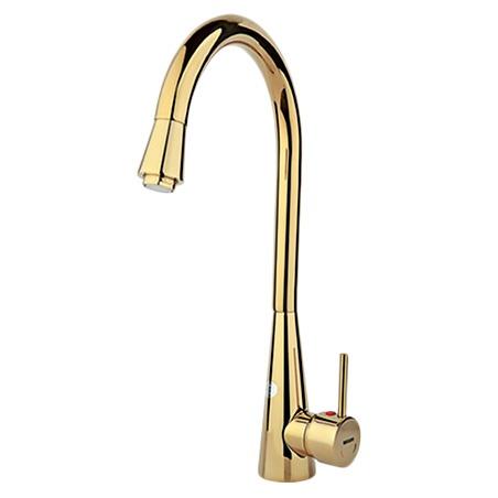 Rassan Sarina Gold Kitchen Faucets