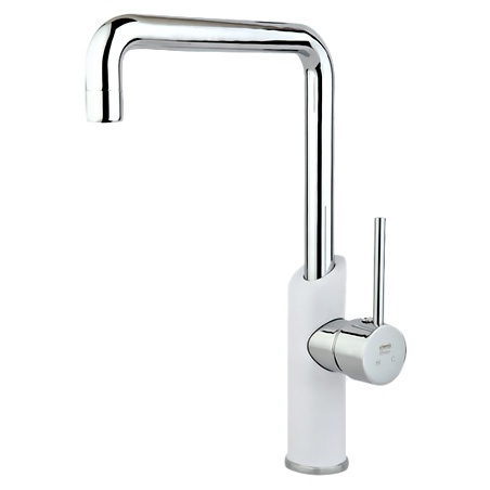 Rassan Shilder White Kitchen Faucets