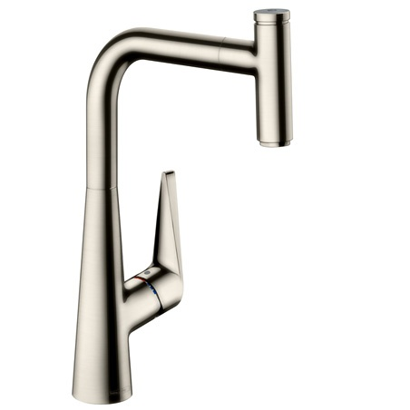 Talis Select S 72821800 Single lever kitchen mixer 300 with pull out spout