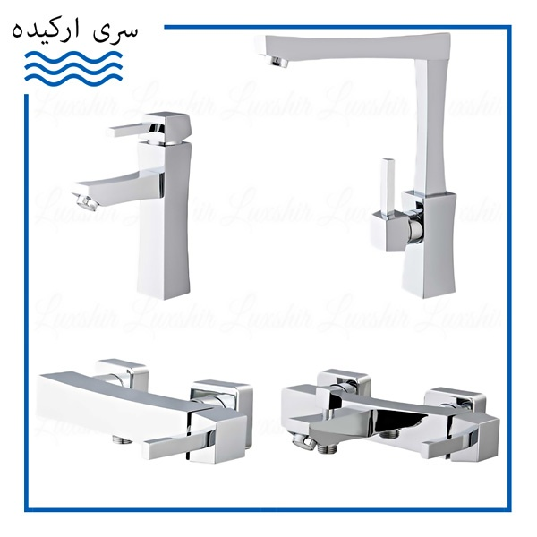 Shayan Orkideh Chrome Faucets