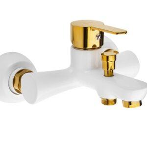 شیرالات حمام تنسر مدل سی ینا سفیدگلد