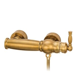 شیرالات توالت قهرمان مدل آنتیک طلایی مات