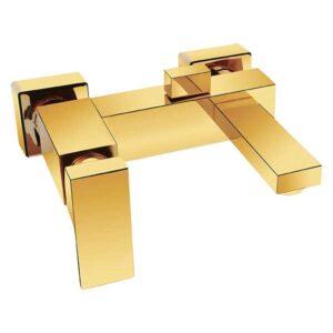 شیرالات حمام طلایی اترون مدل کریویت
