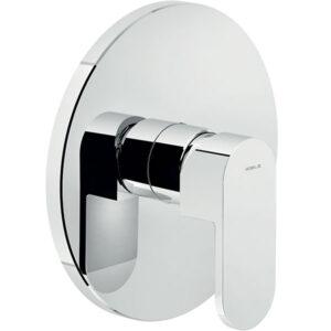 شیرالات توالت توکار نوبیلی مدل آپ کروم