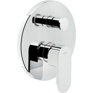 شیرالات حمام توکار نوبیلی مدل آپ کروم