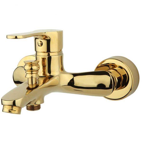 شیراالت حمام راسان مدل صدف طلایی