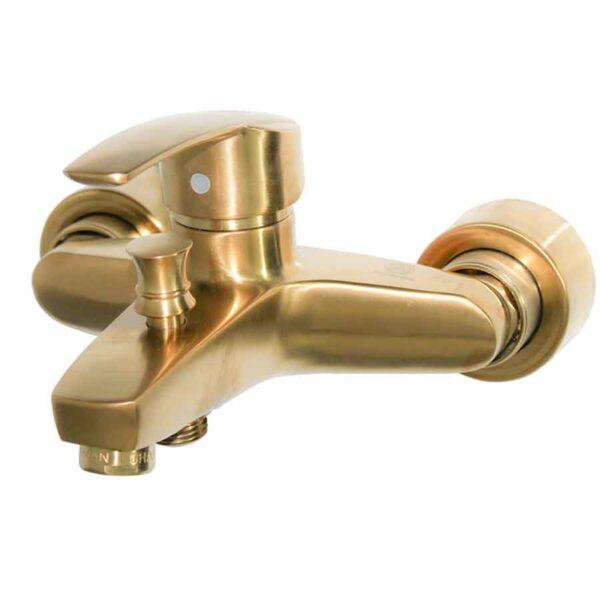 شیرالات حمام قهرمان مدل بهادر طلایی مات