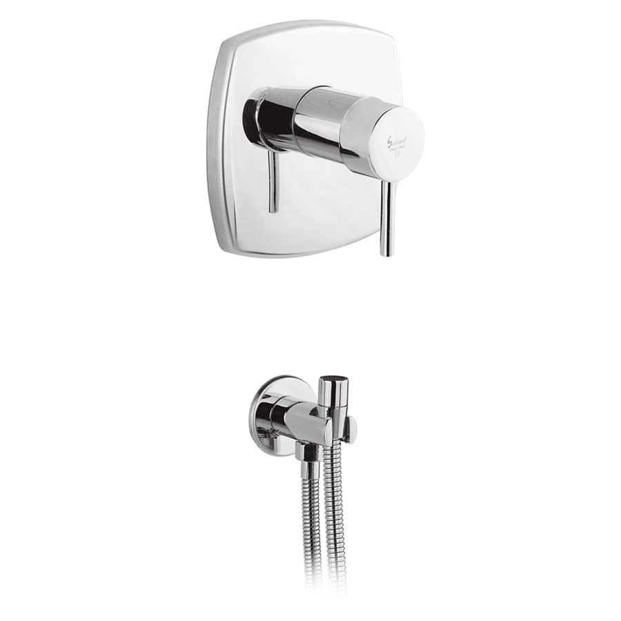 شیرالات توالت توکار سهند مدل اسمارت