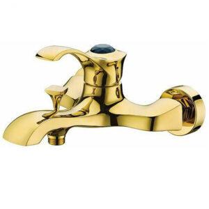 شیرالات حمام شیبه مدل تابان طلایی