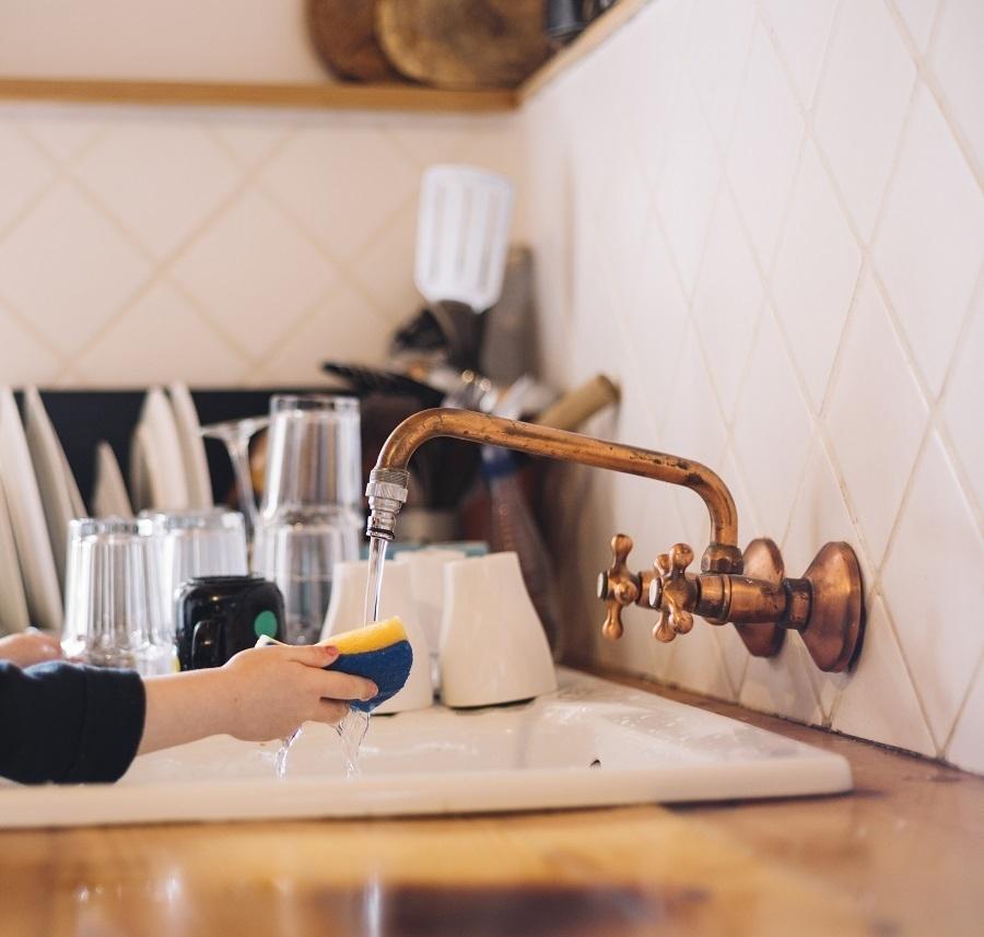 آبکاری شیرالات آشپزخانه
